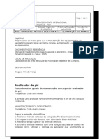 PROCEDIMENTO OPERACIONAL PADRÃO 00