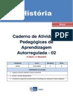 História -autorregulada 2ºano - 2º bimestre-