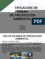 ÁREAS DE PROTECCIÓN AMBIENTAL