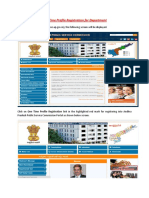 One Time Profile Registration for Department.pdf