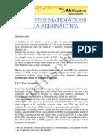 Fundamentos matemáticos de la Aeronáutica