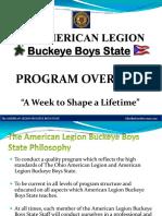 BBS Program Overview 2019