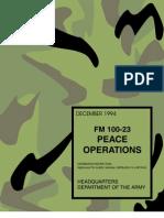 FM 100-23 Peace Operations