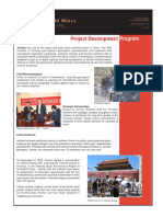 Project Development January 2006