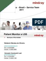 Instalação da Central versão 6.0.2 Mindray