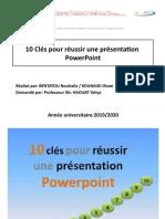10 Clés pour réussir une présentation  Power Point