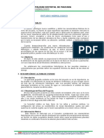 ESTUDIO DE HIDROLOGI PAUCARA