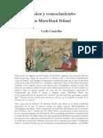 Música y conocimiento en Rumi