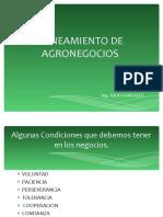 Diplomado  AGRONEGOCIOS   II .