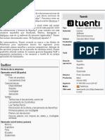 Tuenti - Wikipedia, la enciclopedia libre