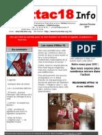 Attac18 info 2011 Janv.-Fév.