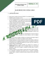 PLAN DE RESCATE CAIDAS DE ALTURA