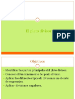 PLATO DIVISOR
