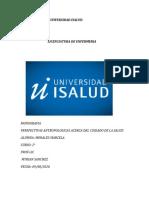 UNIVERSIDAD ISALUD trabajo de antroppologia  monografia