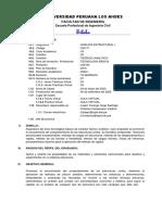 SILABO ESPECIFICO_ANALISIS ESTRUCTURAL I_ 2020-I ING Ordóñez