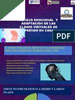 Manejo Emocional y Adaptación de Las Clases Virtuales