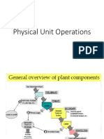 Physical Unit Operations
