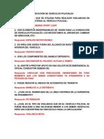 CONDUCCIÓN DE VEHÍCULOS POLICIALES