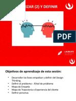 _SESIÓN PRESENCIAL EMPATIZAR Y DEFINIR 20202
