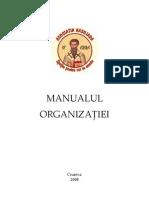 MANUALUL ORGANIZATIEI VASILIADA