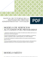 Manual de Tutorías de la Facultad de Ciencias.Arely