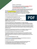 FORTALEZA PARA MANTENER EL CONTENTAMIENTO
