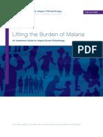 Lifting the Burden of Malaria