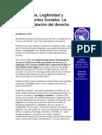 La_democratizacion_del_derecho._Articulo_R._Calderon._comentarios_1 - copia.doc