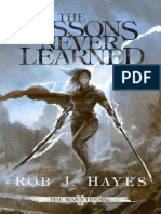The Lessons Never Learned (The - Rob J Hayes.epub