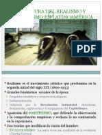 Lit. del Realismo y Naturalismo Latin ppt