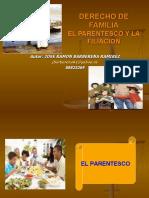 PARENTESCO Y FILIACION DE ACUERDO AL CF.ppt