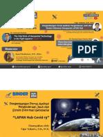 Materi 2 - Development of LAPAN Hub Covid-19 (Fajar Yulianto, 10 Juli 2020)