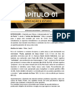 ANÁLISE DA EPÍSTOLA AOS EFÉSIOS - CAPÍTULO 01