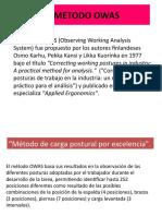 4.1  EL METODO OWAS
