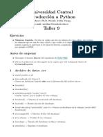 Taller Python 9