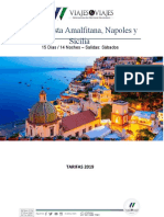 Roma, Costa Amalfitana, Napoles y Sicilia.docx