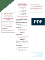 Formulario matematicas