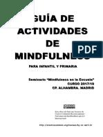 Guia para niños mindfulness