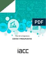 Presentación de Asignatura COSTOS Y PRESUPUESTOS iacc