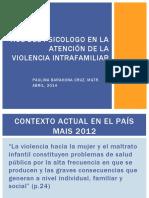 ROL DEL PSICOLOGO EN LA ATENCIÓN DE LA VIOLENCIA (1)