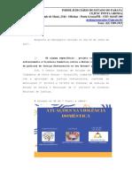 Justiça Restaurativa - carta ao mensageiro VD - PONTA GROSSA