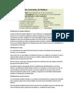 CARACTERISTICAS DEL PLAN ANUAL DE TRABAJO