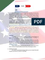 Plano de estudos (ENGLISH)