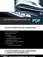 TEMA 1 Los instrumentos del Periodismo