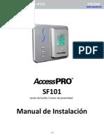 Instalacion SF101