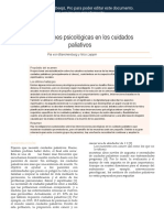 Psychological interventions in palliative care ES