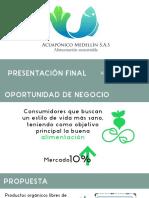 Presentación Preparación proyectos Cultivo Acuapónico