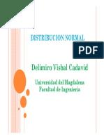 01 - Presentaión Distribución Normal