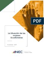 Situacion de las mujeres en el Ecuador vf