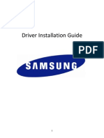 Driver Installation Guide - Samsung USB LTE dongle 20101110